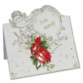 KARTEN und Zubehör / Cards 3 cartes d'ange + 3 enveloppes en blanc
