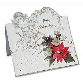 KARTEN und Zubehör / Cards 3 carte angelo + 3 buste in bianco