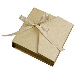Objekten zum Dekorieren / objects for decorating Sieraden doos, afmeting 9,5x9 cm, parelmoer, 1 st.