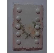 Embellishments / Verzierungen 10 Glitter Brads, 10 mm