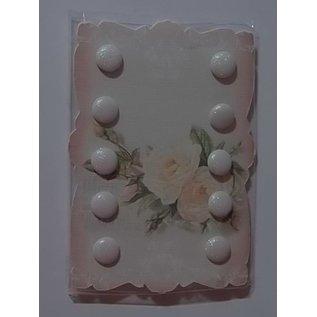 Embellishments / Verzierungen Crèmekleurige glitter Merken