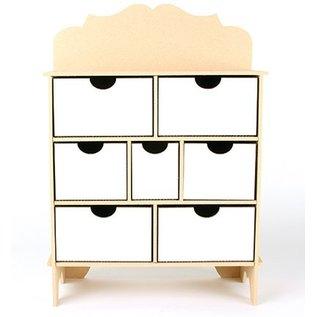 Objekten zum Dekorieren / objects for decorating Collector doos, MFD, 254 x 104 x 360 mm