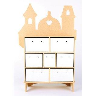 Objekten zum Dekorieren / objects for decorating Collector box, de MFD, 254 x 104 x 360 mm