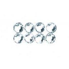 Cristallo Swarovski perline per il ferro, 3 mm, scheda-blister 20 pc, cristallo