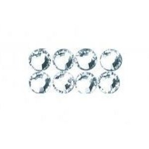 Swarovski crystal beads to iron on, 3 mm, tab-blister 20 pc, crystal
