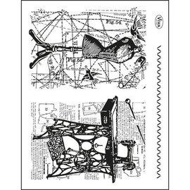VIVA DEKOR (MY PAPERWORLD) Transparente Stempel, Thema: Nähen