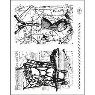 VIVA DEKOR (MY PAPERWORLD) Transparante stempels Topic: Naaien