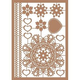 Pronty Kraft Liner, A5, Schmuck, dekorative Papierausschnitte