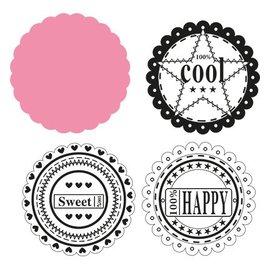 Marianne Design Marianne Design, Cercle et les sentiments, COL1321