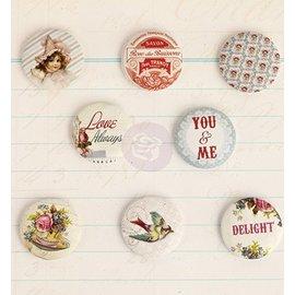 Prima Marketing und Petaloo 8 boutons nostalgiques