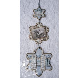 Joy!Crafts / Jeanine´s Art, Hobby Solutions Dies /  Joy Crafts, cutting and embossing stencil, 3 stars