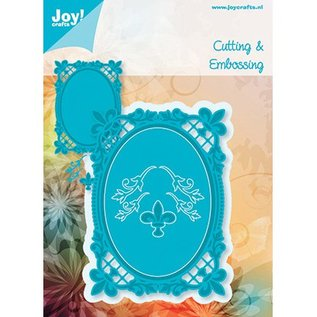 Joy!Crafts / Jeanine´s Art, Hobby Solutions Dies /  Oval the Bourbon lilies