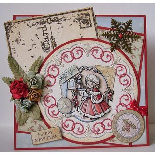 Nellie Snellen Nellie Snellen, stamping and embossing and embroidery sheet!