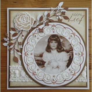 Nellie Snellen Nellie Snellen, stempelen en reliëf en borduren plaat!