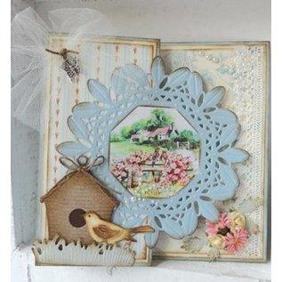 Marianne Design Ponsen jig, Tiny's Country Garden