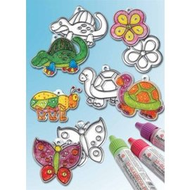 Kinder Bastelsets / Kids Craft Kits Acrylanhänger, verschiedene Motive