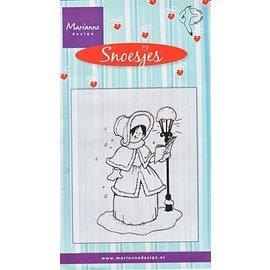 Marianne Design Transparent stamps, Snoesjes, Caroler