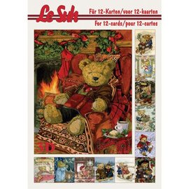 Bücher, Zeitschriften und CD / Magazines Le Suh 3D A5, Beren decoupage sheets.