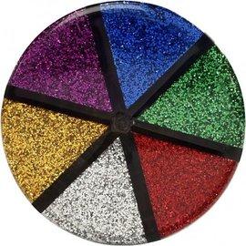 BASTELZUBEHÖR, WERKZEUG UND AUFBEWAHRUNG Glitter, Sortiment, 6x13 g