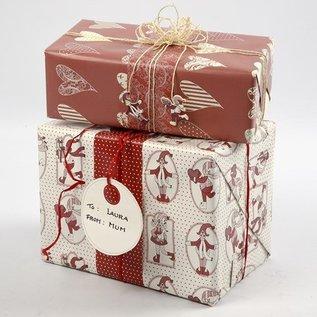 Embellishments / Verzierungen 10 Geschenkanhänger di forte cartone