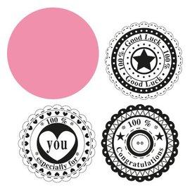 Marianne Design Marianne Design, Circle & the sentiments, COL1320