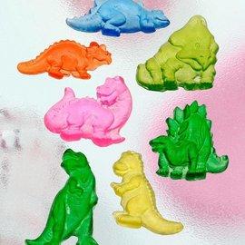 GIESSFORM / MOLDS ACCESOIRES Seifengießform, Dinos, 7 piezas de 4,5 cm