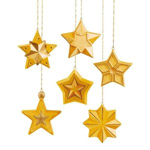 GIESSFORM / MOLDS ACCESOIRES Mold: full form of stars, 8x8x2, 5cm, 6 pcs.