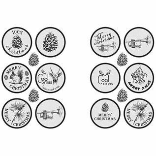 Embellishments / Verzierungen Zelfklevende sticker ontwerp met een matte afwerking - van de Vivi Gade Design