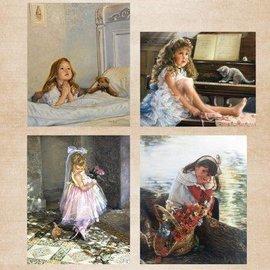 Nellie Snellen Hoja A4, la hermana pequeña de época