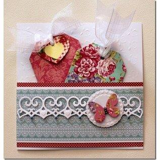 Textil Nostalgische etiketten van stof-tags, gesorteerd 30Stück, 6013-0781
