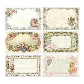 Embellishments / Verzierungen 30 smukt billede Notecards - Delight, 30 stykker, 12,7 x7, 62cm