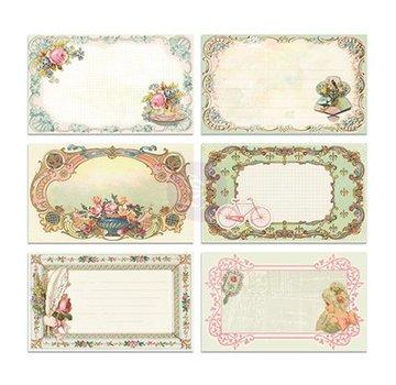 Embellishments / Verzierungen 30 bella immagine Notecards - Delight, 30 pezzi, 12,7 x7, 62 centimetri