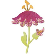 Sizzix Stamping template, flower