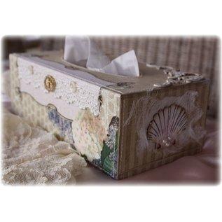 Objekten zum Dekorieren / objects for decorating Salvietta dimensioni 27x14x8 cm scatola, Kaiser Albero, 1 pz.