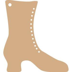 Objekten zum Dekorieren / objects for decorating Dames laarzen voor het versieren