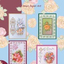 Bücher, Zeitschriften und CD / Magazines Bog med 3D Stitching Sheets og No.1