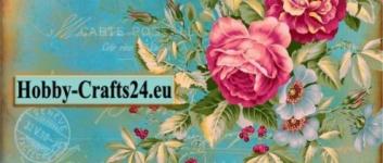 Din votre crafts24, med mange håndværksideer med klippematerialer, frimærker, udsmykninger, til udformning af kort, til forskellige lejligheder, såsom invitationskort, fødselsdagskort, bryllup, dåb samt design af albums, scrapbog, blandede medier.