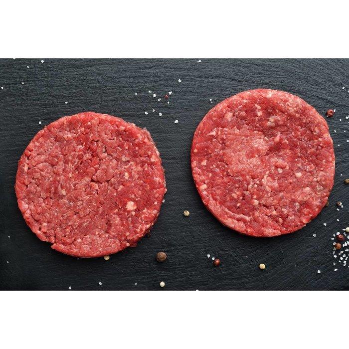 handmade Burgerpatties vom Rind
