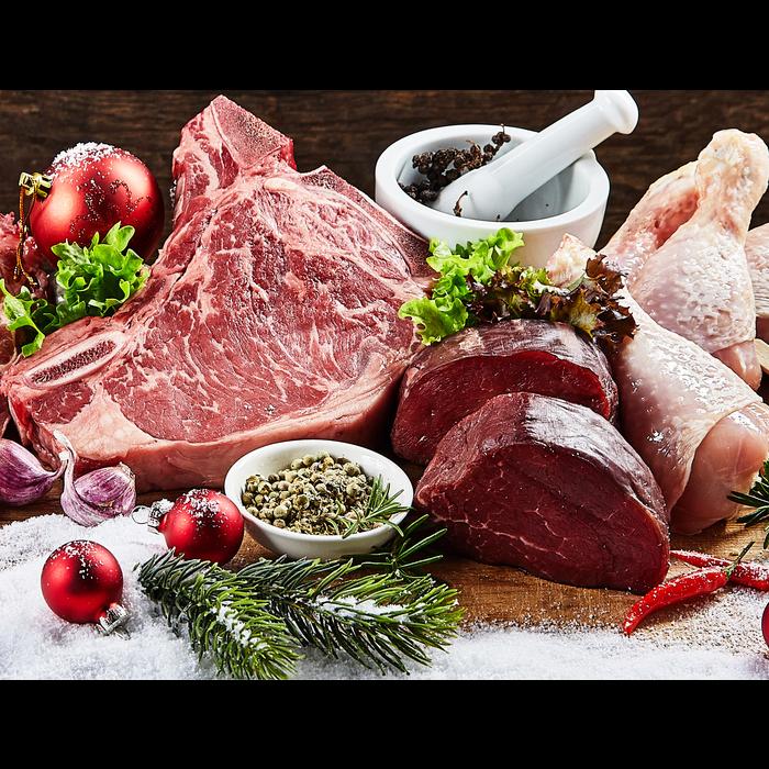 Weihnachtsfleisch