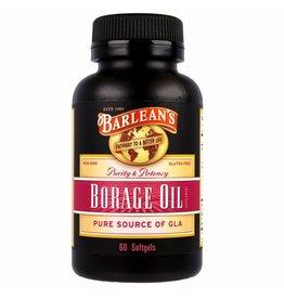 Barlean's Borage Oil, 60 Softgels