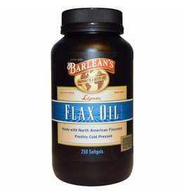 Barlean's Lignan Flax Oil, 250 Softgels