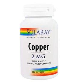 SOLARAY Solaray, Copper Caps 2mg