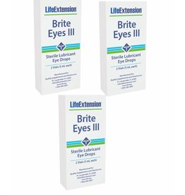Life Extension Brite Eyes III 3-pack