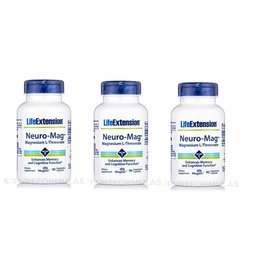 Dental Supps Neuro-mag Magnesium L-Threonate, 3-pack