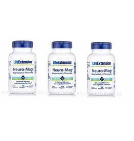Dental Supps Neuro-mag Magnesium L-Threonate, 3-pack