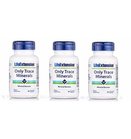 Life Extension Only Trace Minerals, 3-pack