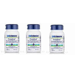 Life Extension Provinal Purified Omega-7, 3-pack