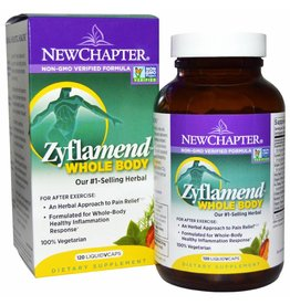 New Chapter Zyflamend Whole Body- 120 Vegetarian Capsules, 2-pack