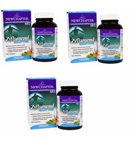 New Chapter Zyflamend Nighttime- 60 Vegetarian Capsules, 3-pack