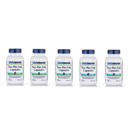 Life Extension Two-Per-Day Capsules, 5-pack